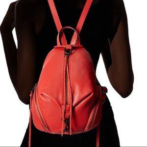 Rebecca Minkoff Backpack Julian Blood Orange NWT